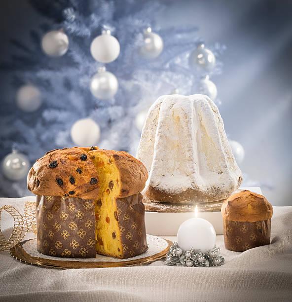 Panettone und Pandoro Kuchen – Foto