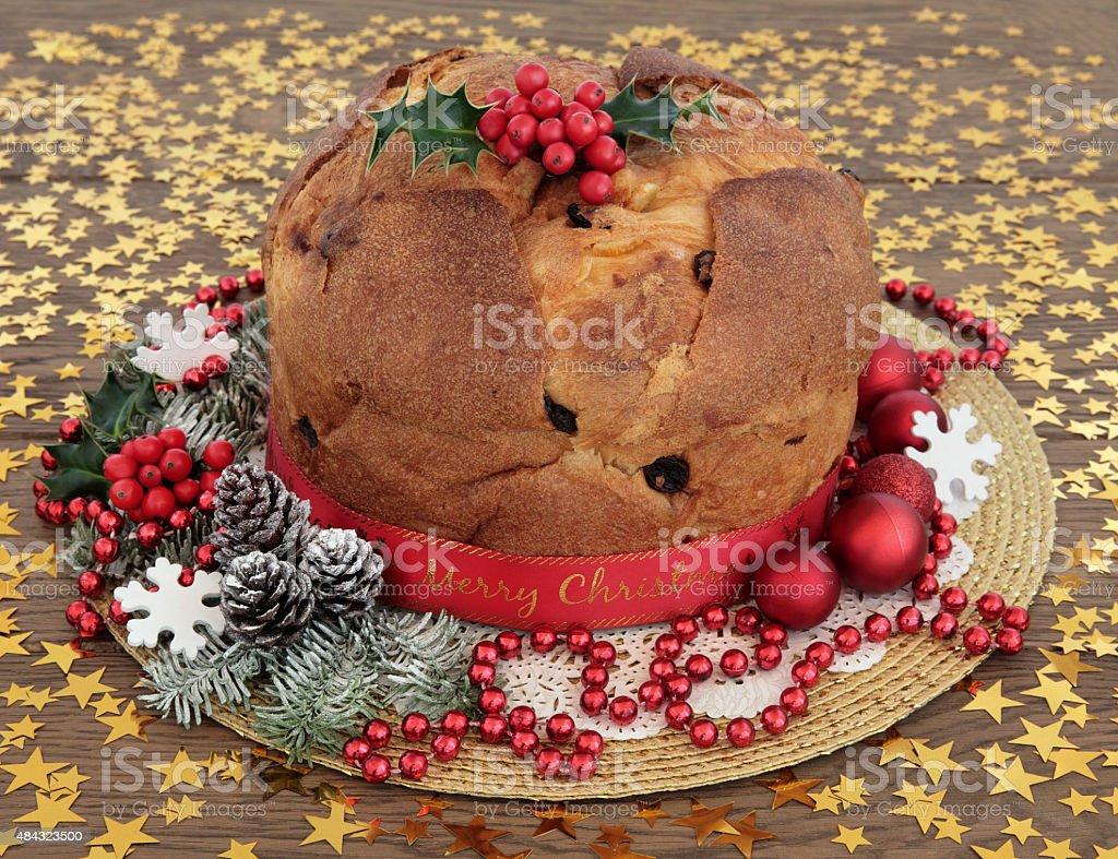Cucina Italiana Dolci Di Natale.Panettone Dolce Di Natale Fotografie Stock E Altre Immagini Di 2015
