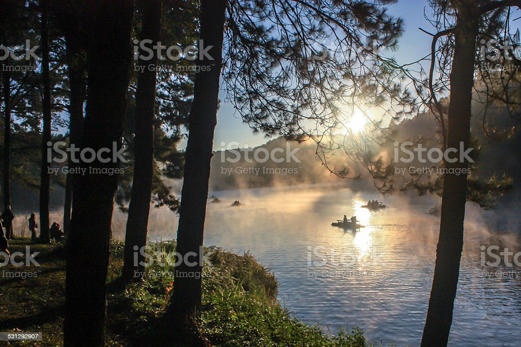 Pang Ung In The Morning stock photo