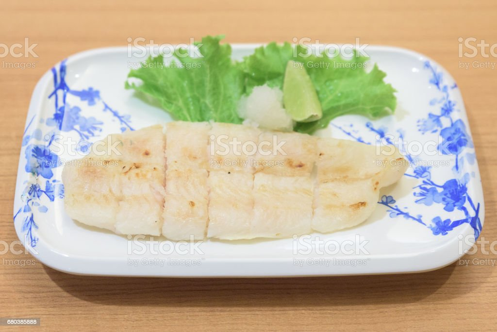 Pangasius Shioyaki royalty-free stock photo