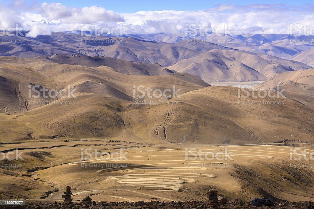 Pangla pass royalty-free stock photo