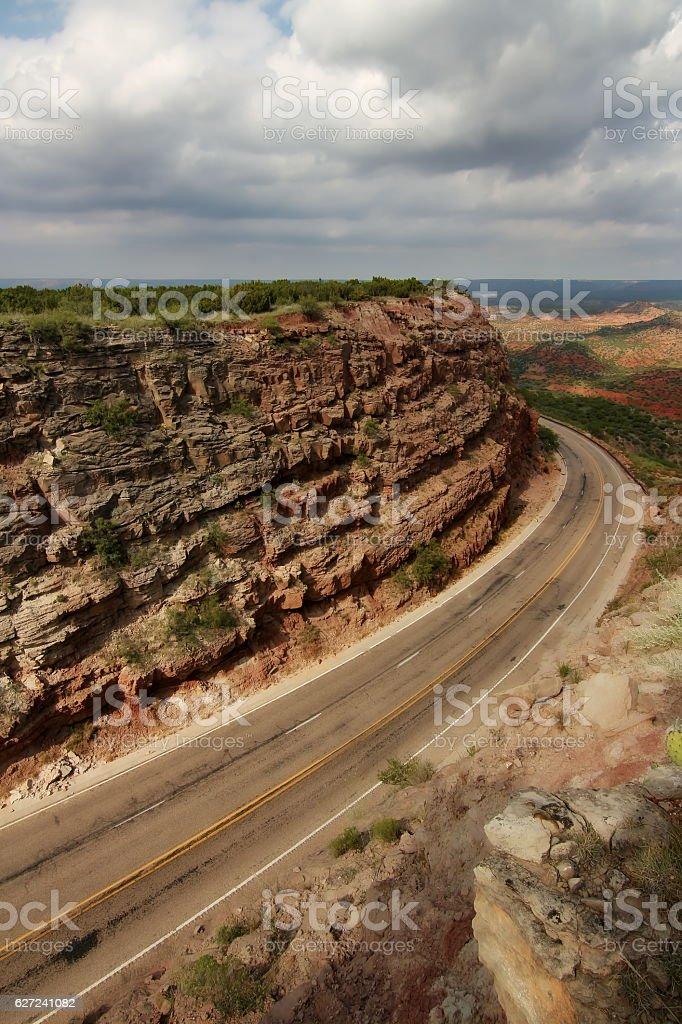 Panhandle Highway stock photo