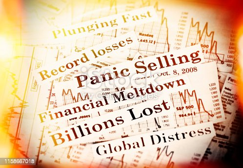Panic selling and billions lost.