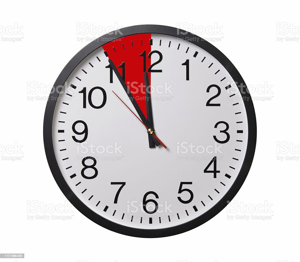 Panic Time royalty-free stock photo