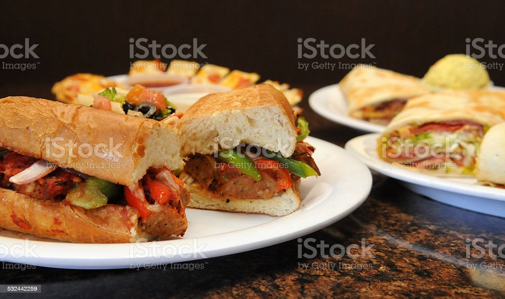Panino Meal stock photo