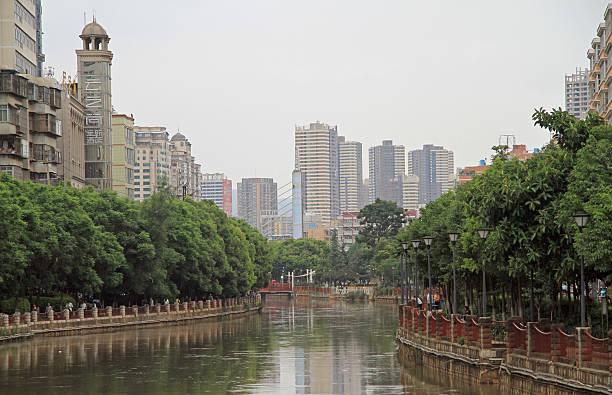 판롱 강 중앙 곤명 무시레프 - 쿤밍 뉴스 사진 이미지