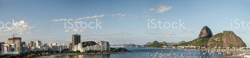 Panoram - Rio de Janeiro royalty-free stock photo
