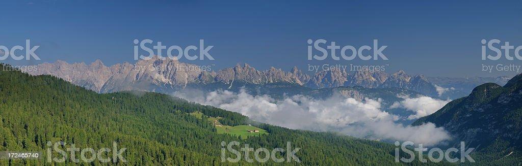 Panorama Alpino royalty-free stock photo