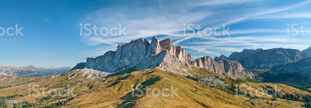 Panorama Alpino stock photo