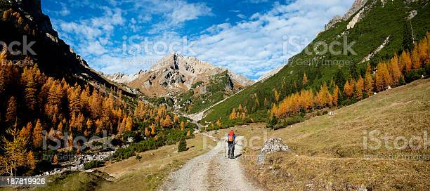 Photo of Panorama - autumn in the alps