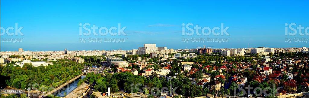 Panorama Stadt in Bukarest – Foto