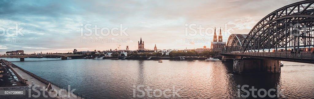 Panorama von Köln – Foto