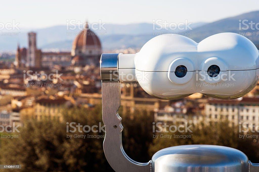 Panorama di Firenze stock photo