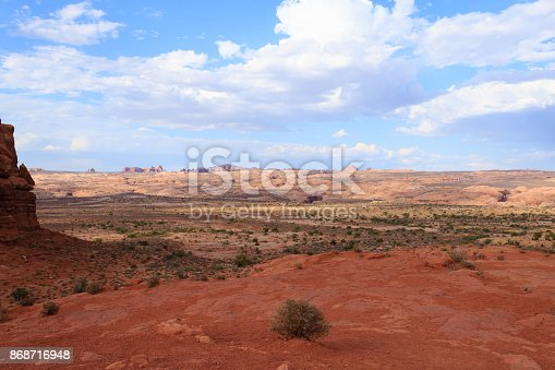 istock Panorama from Arches National Park, Utah. USA 868716948