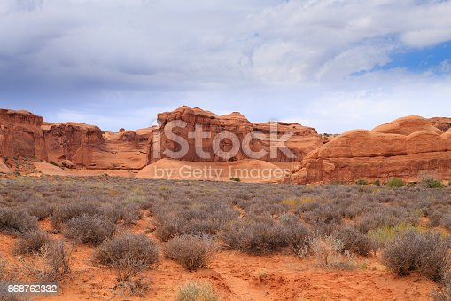 istock Panorama from Arches National Park, Utah. USA 868762332