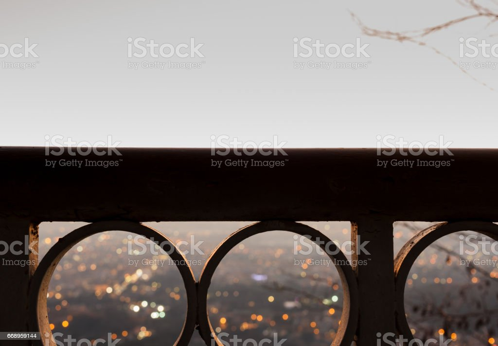 Panorama from balcony foto stock royalty-free