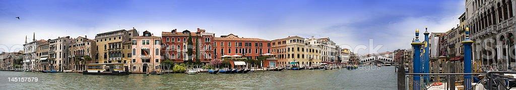 Panorama from Venice royalty-free stock photo