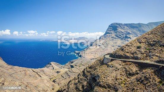 istock Panorama Grand Canary Tamadaba Natural Park Coast Canary Islands 1224080576