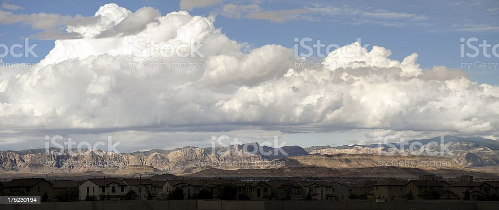 panorama, henderson, red rock canyon royalty-free stock photo