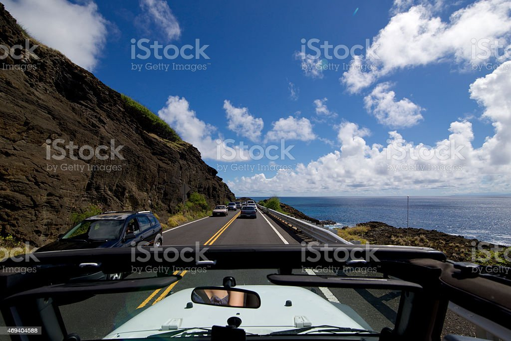 Panorama Highway stock photo