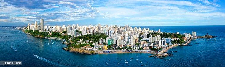 istock Panorama Image of Salvador Bahia Brazil 1143412120