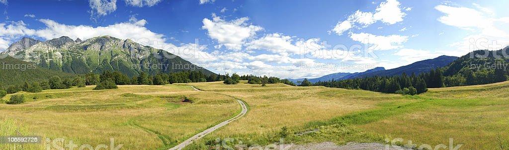 panorama in Trentino royalty-free stock photo