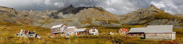 Panorama Independence Mine, Hatcher Pass, Alaska – Foto