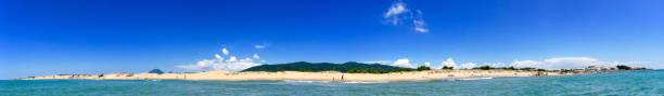 Panorama Issos Beach stock photo
