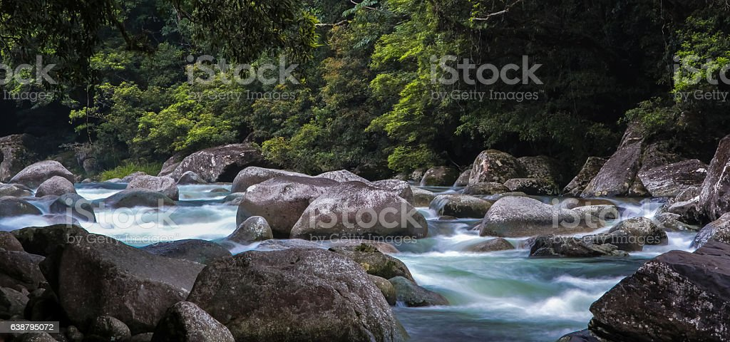 Panorama Mossman Gorge, Daintree National Park, Australia – Foto