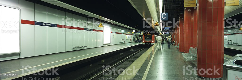 Panorama Munich Central Station royalty-free stock photo