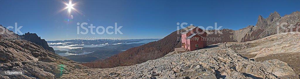 Panorama Nationalpark Nahuel Huapi royalty-free stock photo