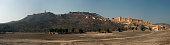 panorama of Amber Fort, Jaipur city India