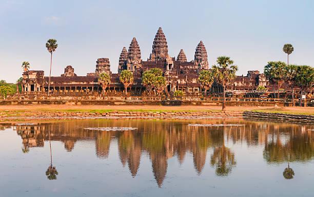 Angkor Wat in Kambodscha XXXL Panorama – Foto