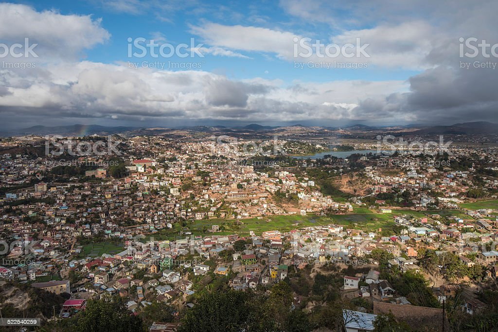 Panorama de Antananarivo ville, capitale de Madagascar - Photo