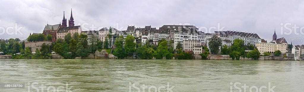 Panorama von Basel, Schweiz – Foto
