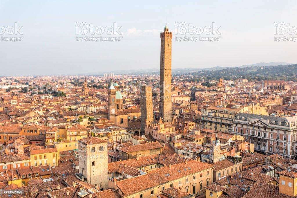 Panorama von Bologna, Italy – Foto