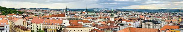 Panorama of Brno, Czech Republic Panorama of Brno - Czech Republic brno stock pictures, royalty-free photos & images