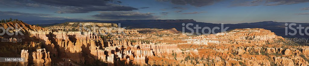 Panorama of Bryce Canyon stock photo