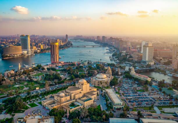 Panorama von Kairo – Foto