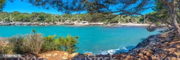 Panorama of cala turqueta in menorca balearic islands spain picture id1219918076?b=1&k=6&m=1219918076&s=612x612&h=ftubt94en0ih392hhju4s4zi0dnr xgfysfwwn6rqm0=