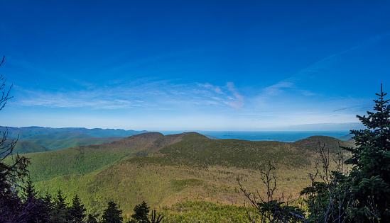 Panorama Of Catskill Mountains Stock Photo - Download Image Now