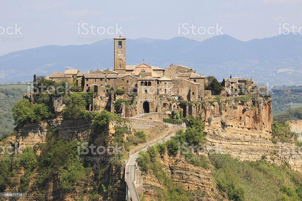 Panorama De Civita Di Bagnoregio Lazio Itália - Imagens de acervo e ...