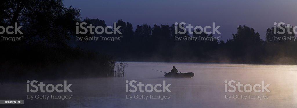 panorama of dawn royalty-free stock photo