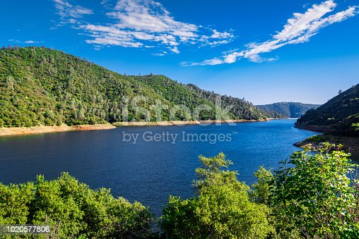 Don Pedro Reservoir (also known as Lake Don Pedro) is a reservoir formed by the construction of the New Don Pedro Dam across the Tuolumne River in the Stanislaus National Forest of Tuolumne County, California.