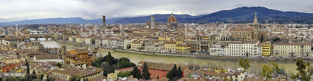 Panorama of Florence. Italy. royalty-free stock photo