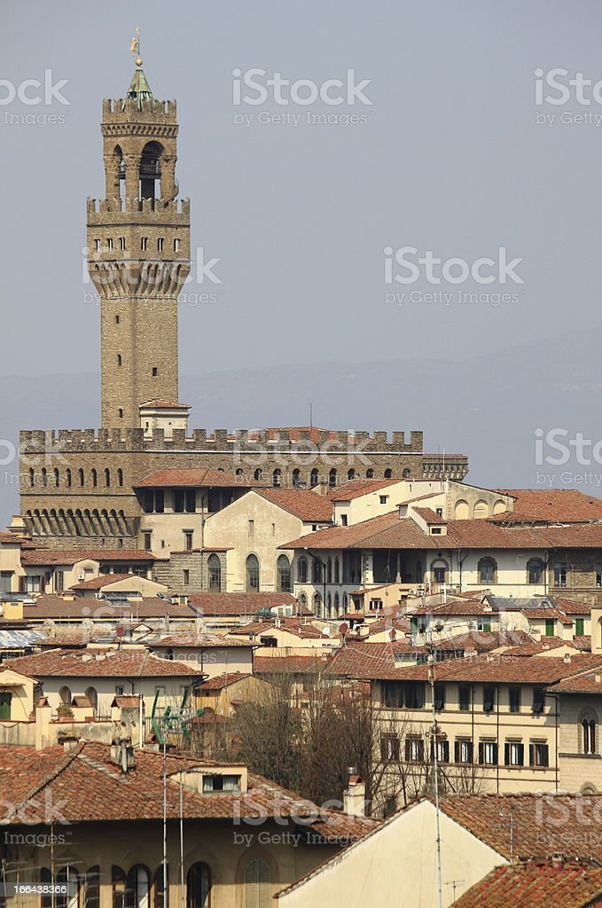 Panorama of Florence royalty-free stock photo