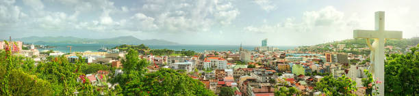 Panorama von Fort de France, Martinique – Foto