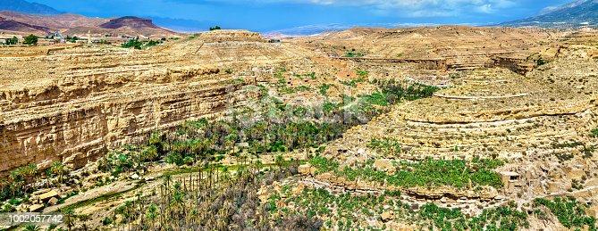 istock Panorama of Ghoufi Canyon in Algeria 1002057742