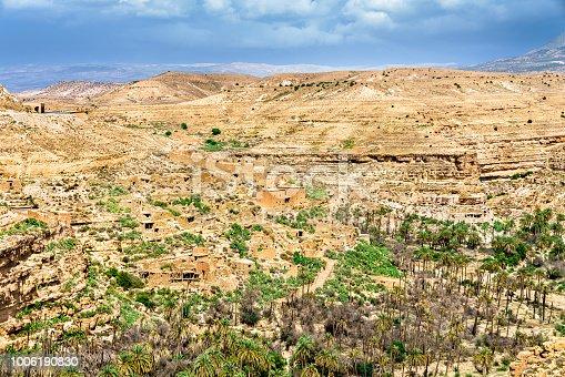 istock Panorama of Ghoufi Canyon in Algeria 1006190830