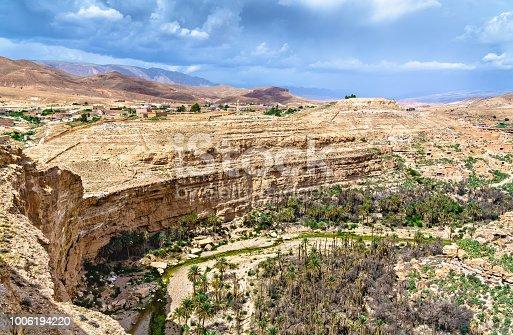 istock Panorama of Ghoufi Canyon in Algeria 1006194220